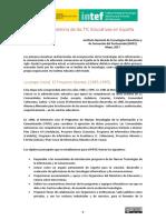 Breve Historia TIC Educativas Espana