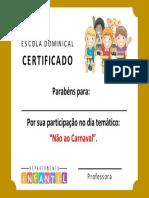 Certificado Ebd Infantil v4