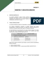 5.- Estructura de Sistemas Hidráulicos