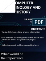 Computer Terminology and History