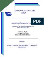 2001 Vertedores y obras de desfogue - inspección - CONAGUA.pdf