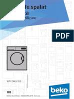 Manual Utilizare Beko WTV9632X0
