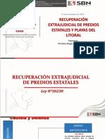 Recuperacion Extrajudicial de Predios Estatales y Playas Del Litoral
