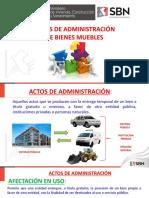 Actos de Administración y Disposición de Bienes Públicos SBN Perú