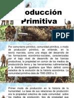 Produccion primitiva