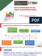 Disposiciones Generales Altas y Bajas SBN Perú