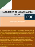 La Filosofía de La Matemática de Kant