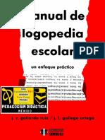Manual de Logopedia Escolar. Un Enfoque Práctico