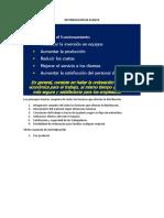 Distribucción de Planta Información Investigada