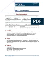 PMO 1.6 Project Schedule Project Management