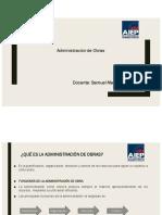 Unidad Administración de Obras
