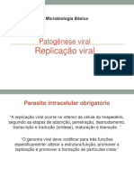 AULA 3 _ Microbiologia Básica _ Virologia _ Patogenese Viral - Ciclo Viral