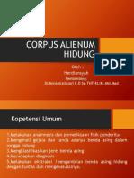 Corpus Alienum Hidung