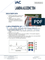 Especificacion Tecnica Calamina Aluzinc Tr4