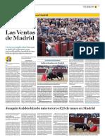El Comercio (Lima-Peru) Lun 30 mayo 2016 (Pag 37) Pag Taurina.pdf