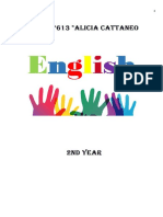 Cuadernillo 2do Ingles 2019 EESO 613