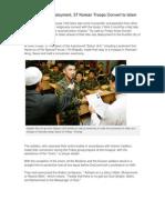 37 Korean Troops Embrace Islam