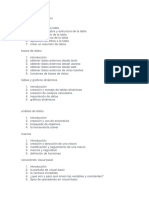 Tablas y Listas de Datos