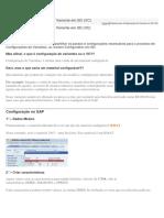 Passos Para Configuração de Variante Em SD