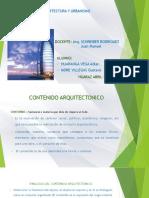 CONTENIDO ARQUITECTONICO