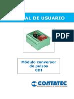 74b - Conversor de Pulsos CDI - Manual de Usuario