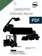 3B6 Slim-Master Calibration Manual