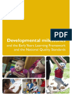 Booklete Developmental Milestones