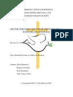 sector terciario de Honduras.docx