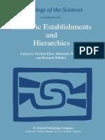 Norbert Elias auth., Norbert Elias, Herminio Martins, Richard Whitley eds. Scientific Establishments and Hierarchies  1982.pdf