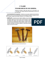 3° CLASE DEL II CICLO herramientas de aeronáutica
