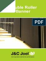 JC Joel Double Roller Banner Datasheet