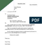 CREDIT CARD SURRENDER  standard  .docx
