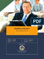 Curso Auditor Interno Iso 9001 2015