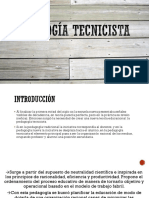 Pedagogía tecnicista