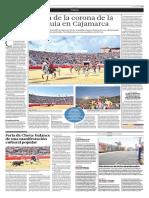El Comercio (Lima-Peru) Lun 30 Mayo 2016 (Pag 37) Pag Taurina