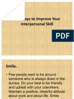 Ten Ways to Improve Your Interpersonal Skill - Copy