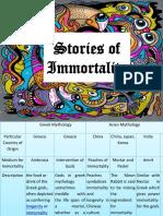 Stories of Immortality Mythology