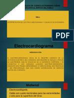 PRESENTACION ELECTROCARDIOGRAMA