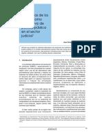 Problemas de los MARC como alternativa de política pública en el sector judicial1