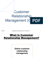 Chapter 21 Customer Relationship Management