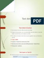 SAP SD Text
