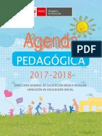 Agenda Pedagógica 2017-2018 Para Docentes de II Ciclo de Instituciones de Nivel de Educación Inicial