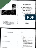 El mito tragico de 'El Angelus' - Salvador Dali.pdf