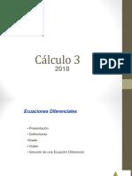 Clase 1- Introduccion y Definiciones Fundamentales- ecuaciones diferenciales