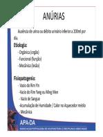 Ginecologia Mtc Anurias