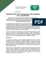 Pesquisa Datafolha CFM, 92_ da população está insatisfeita com o atendimento (ago 2014).pdf