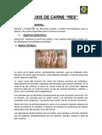 Bromatologia Carne analisis