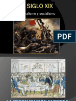 10. Siglo XIX - Liberalismo y Socialismo