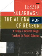 Leszek Kolakowski - The Alienation of Reason. A History of Positivist Thought (1).pdf