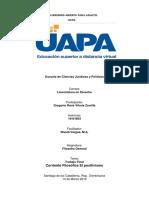 Trabajo Final de Filosofía General UAPA